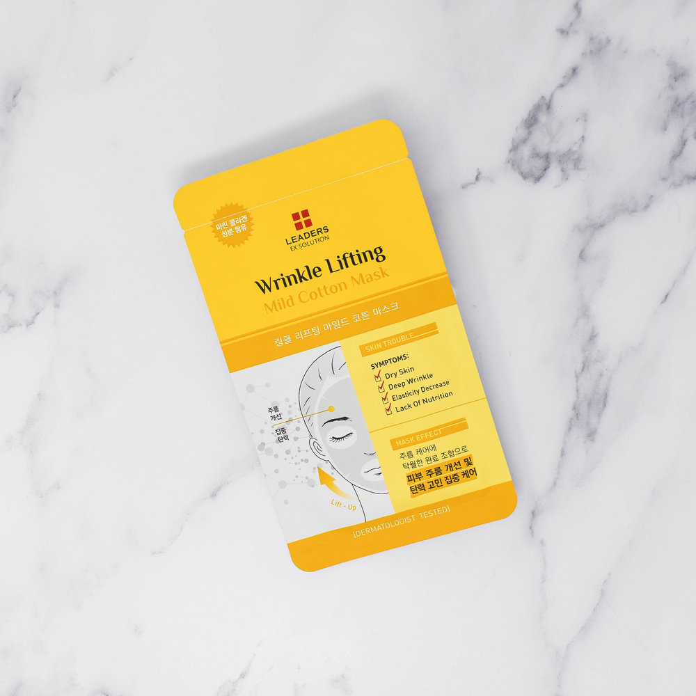 Wrinkle Lifting Mild Cotton Mask