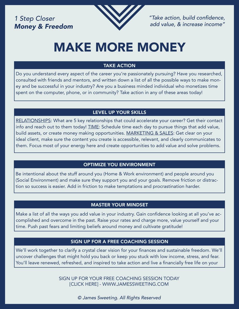 ONE-STEP-CLOSER-Make More Money.jpg