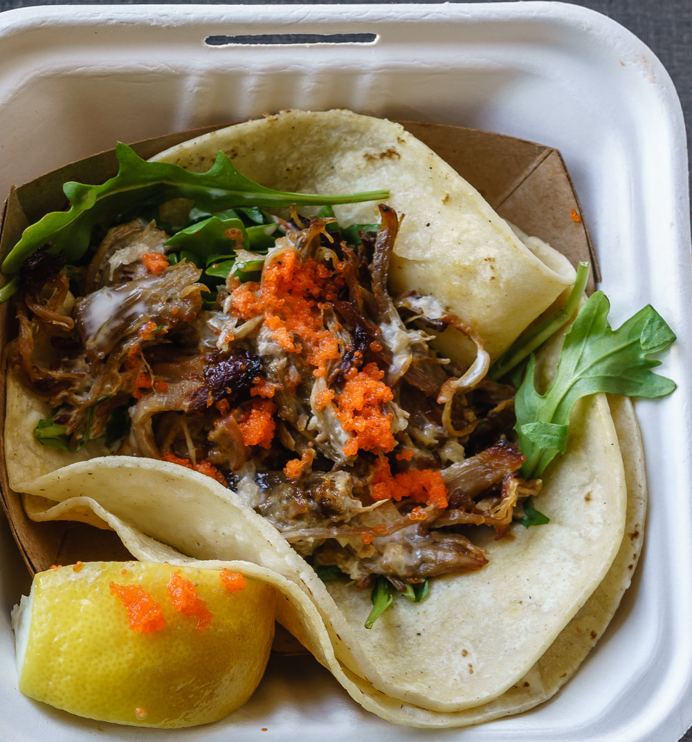 Miso Braised Pork Taco -