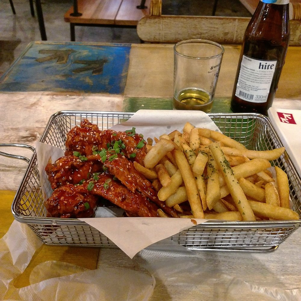 Chicken Up! - I just had to try some Korean Fried Chicken and this Singaporean chain claims to be the best in the city. While everyone has their own opinion, there was a branch close by so...