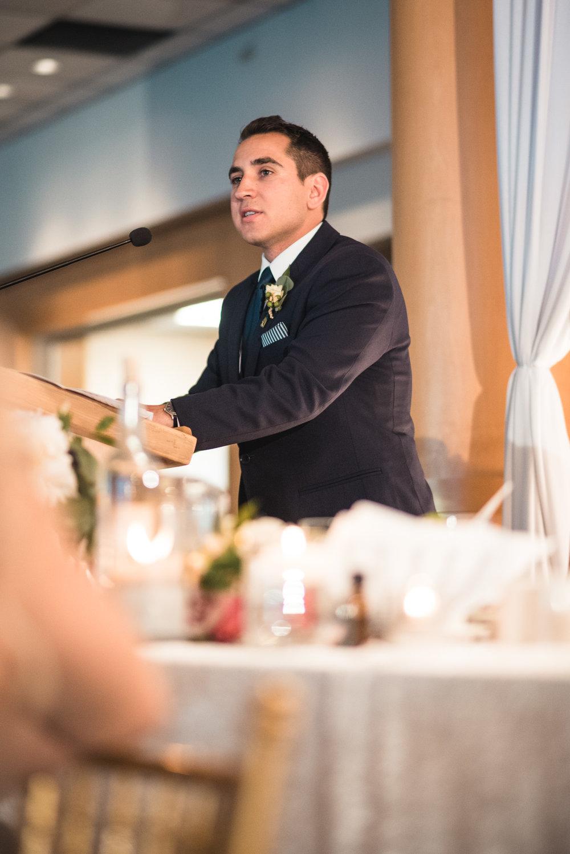 Best Man speech at reception
