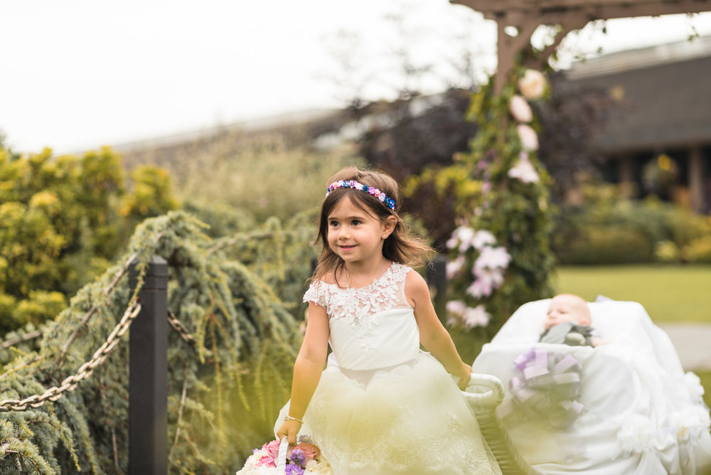 Flower Girl and son of the Bride and Groom