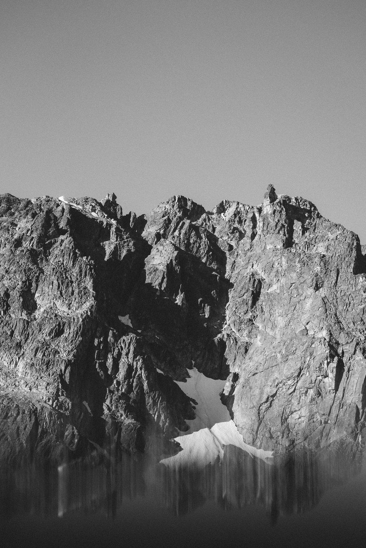 Wedgemount Lake Mountains
