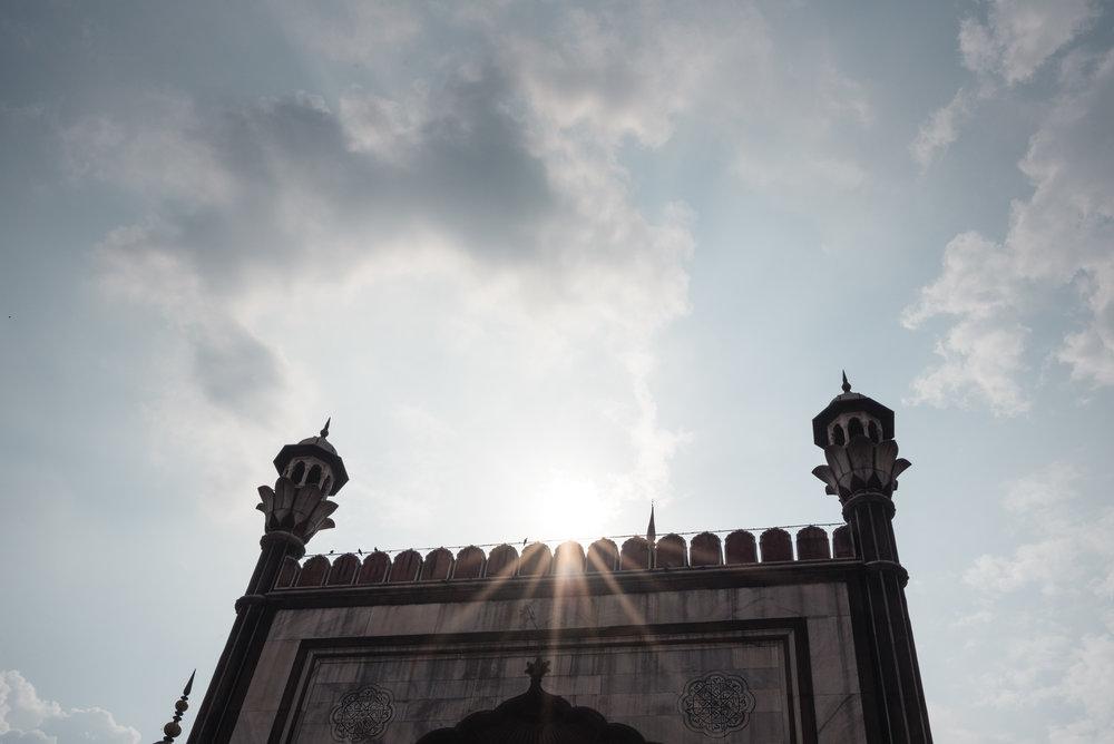 The Jama Masjid Old Delhi