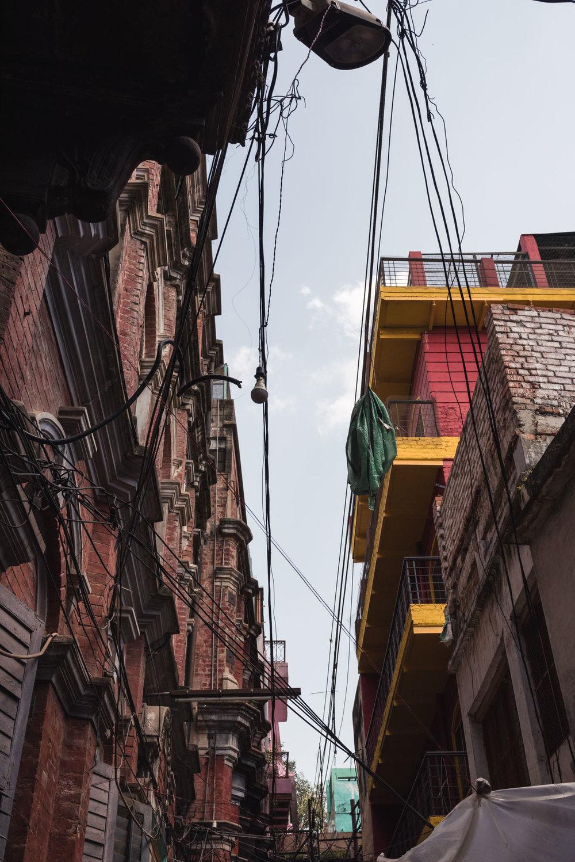 Buildings in Varanasi