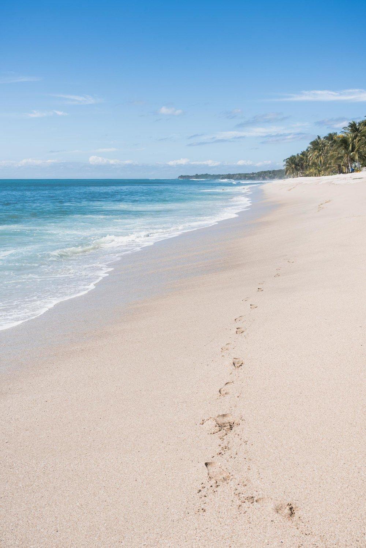 Riviera Nayarit white sand beach