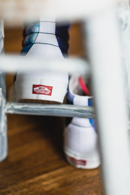 Custom Vans wedding shoes