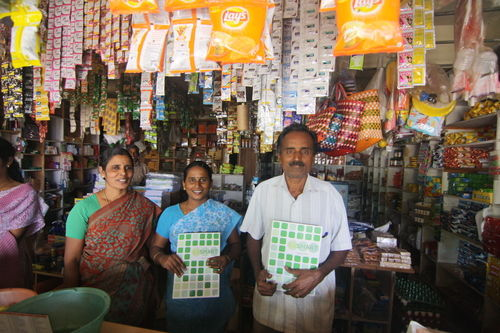 Essmart builds a marketplace for life-improving technologies in local retail stores in rural India. (scu-social-entrepreneurship.org photos)