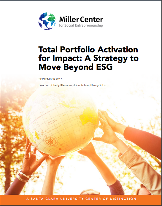 Total Portfolio Activation for Impact
