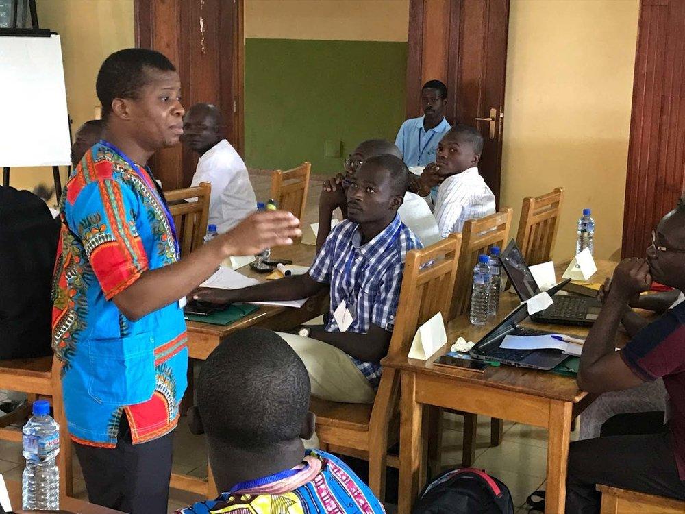 Joy in Togo:Miller Center and local Jesuit ministry hold largest ever GSBI Boost workshop