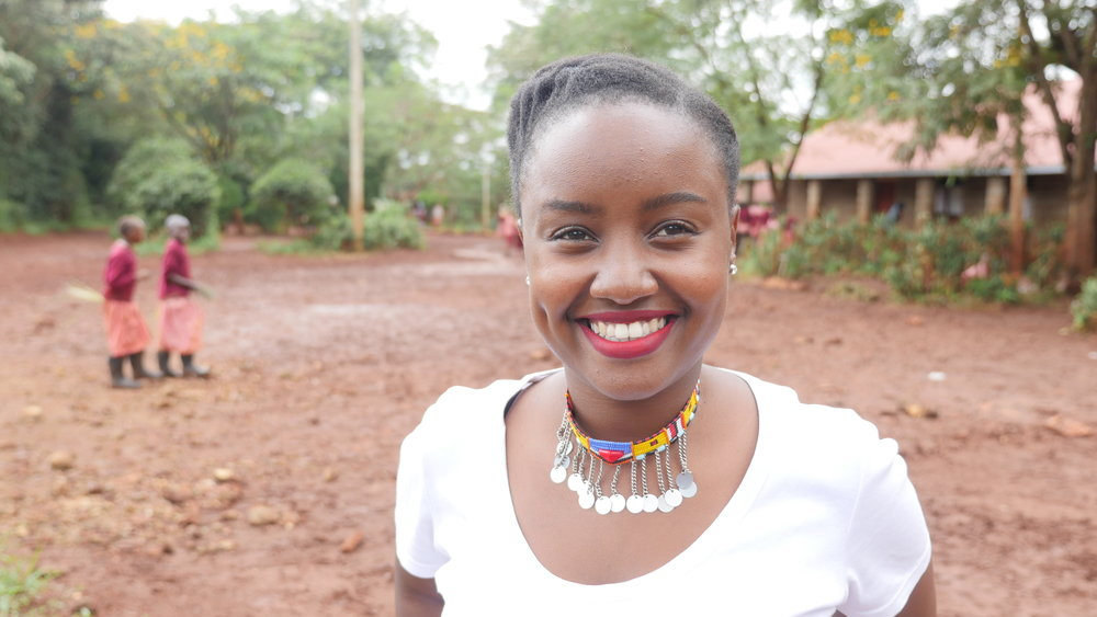Founder, Food 4 Education, Wawira Njiru   Photo credit: Food 4 Education