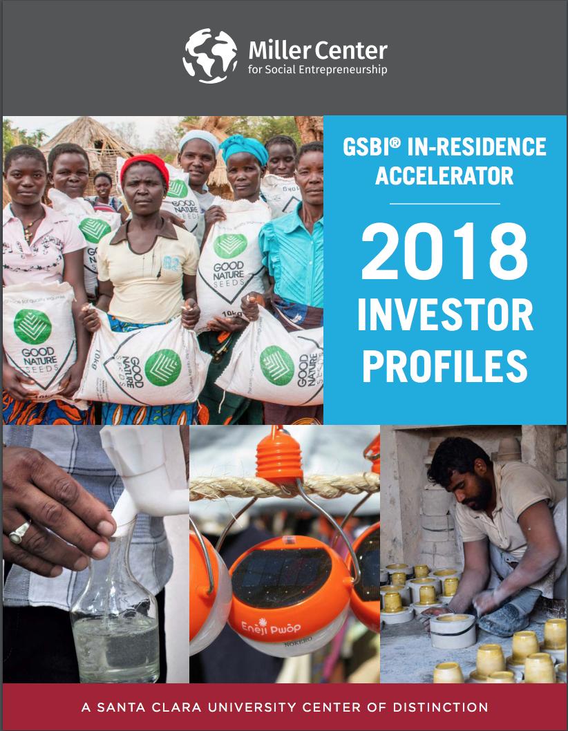 2018 GSBI® In-Residence Accelerator Investor Profiles