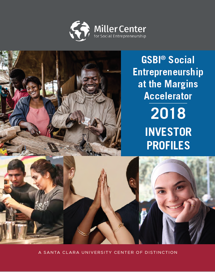 Click on image to view the Investor Profiles from the participating social enterprises.