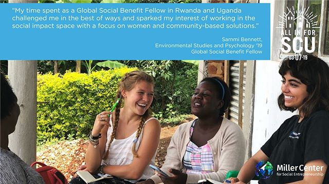 .@santaclarauniversity student, Sammi Bennett (@sammidancer) worked with alumni of our Global Social Benefit Institute (GSBI®) programs, All Across Africa (@kazigoods), to lift women artisans and their families out of poverty in Africa . 🔓👩 Give to the Women's Leadership Fund today to support our female fellows in empowering women across the globe, and help us unlock $35,000 in challenge gifts!: http://bit.ly/2T3yCox 📖 Read more about Sammi's experience here: https://bit.ly/2ER3yjS  #AllinforSCU #OnlySantaClara #socent #GSBI #GSBF