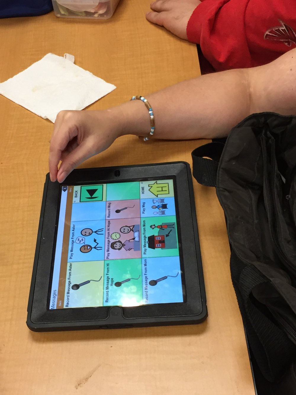 Using assistive technology to enhance communication abilities