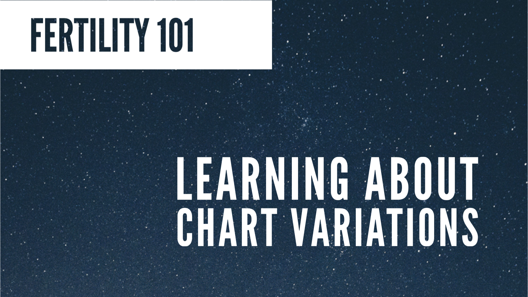 Lesson 20 – Learning About Chart Variations — YONO