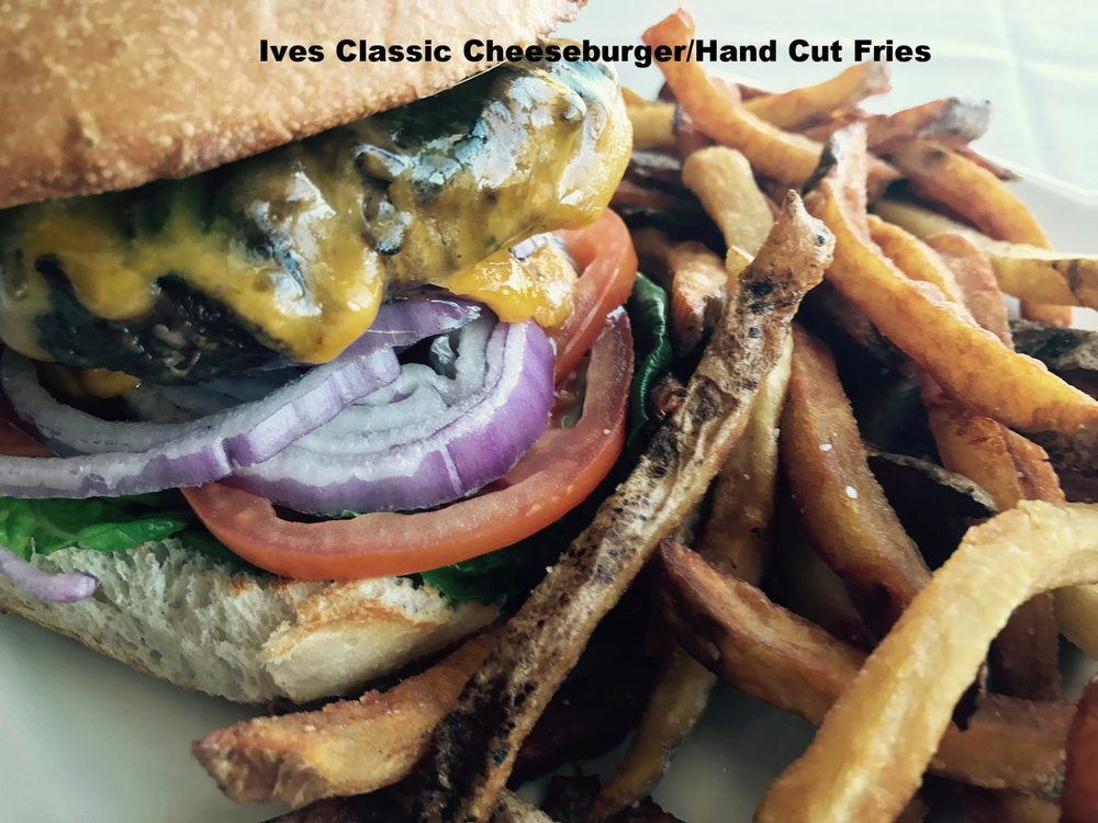 Classic Cheeseburger with Hand Cut Fries