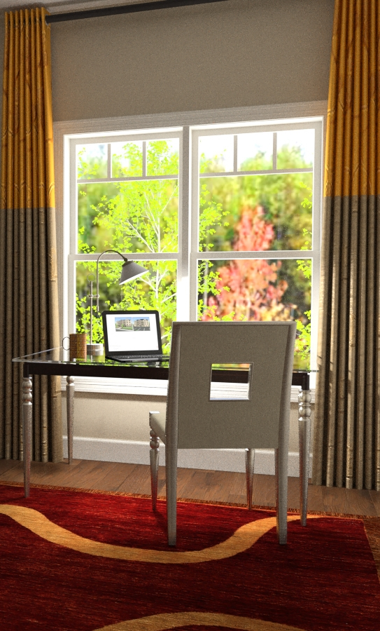 3d renderings can include YOUR PROPERTY's actual window views!