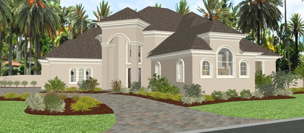 - FLORIDA ESTATE - DRAFT RENDERING PROJECT