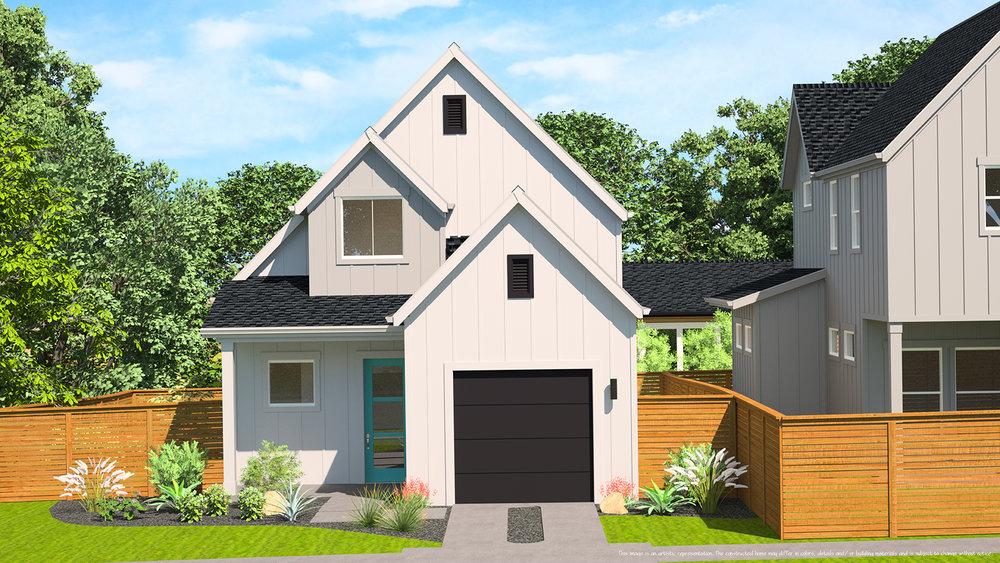 3D Exterior Home Rendering