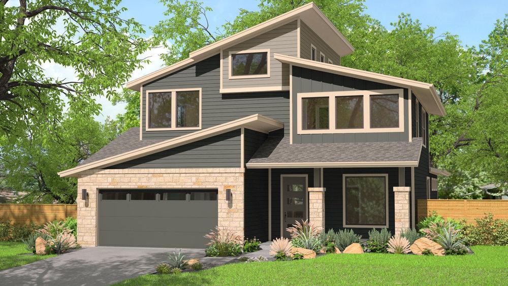 3D Home Rendering - Exterior