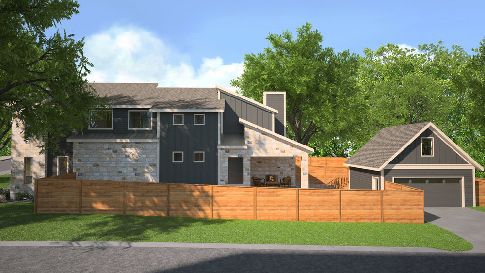 3D Rendering of Home Exterior