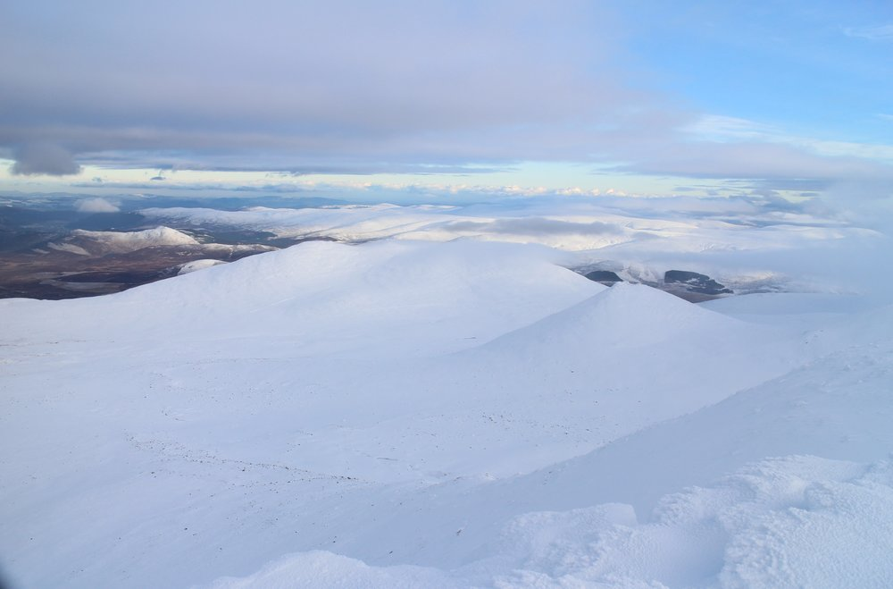 Lochnagar in winter