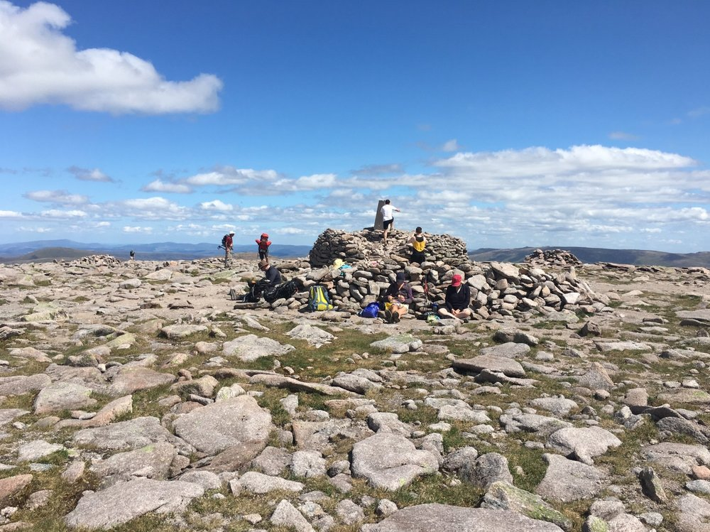 A busy Ben Madcui summit