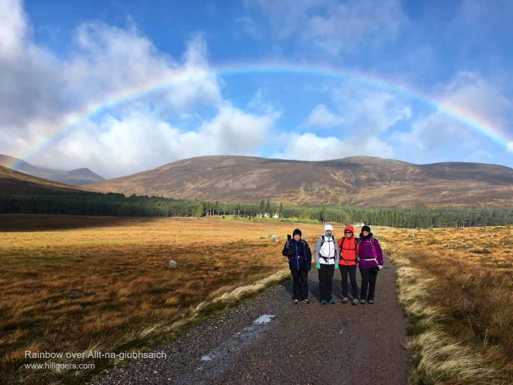 Rainbow over Allt-na-giubhsaich