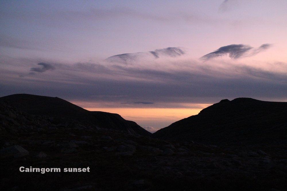 Cairngorm Sunset