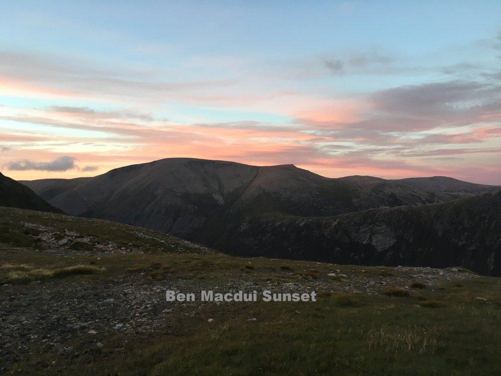 Ben Macdui Sunset
