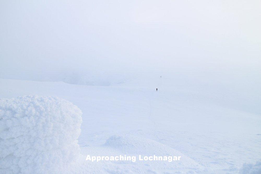 Approaching Lochnagar