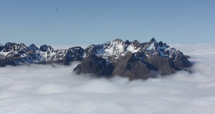 Views from the top of Blà Bheinn