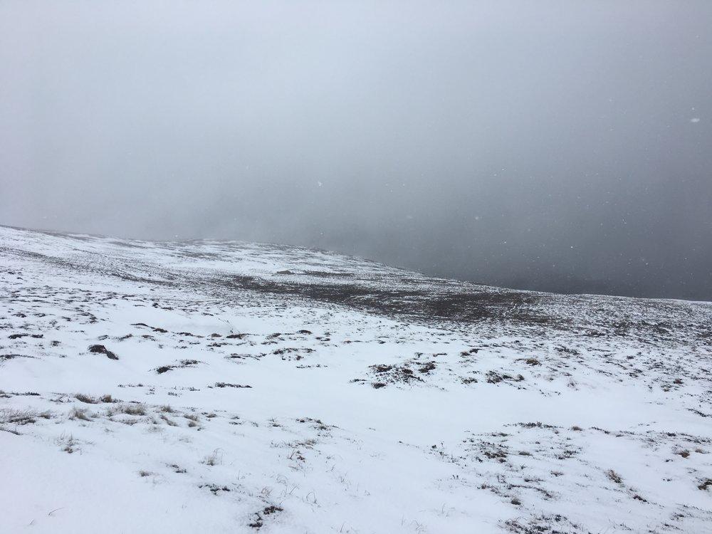 Beinn Bhreac winter returns