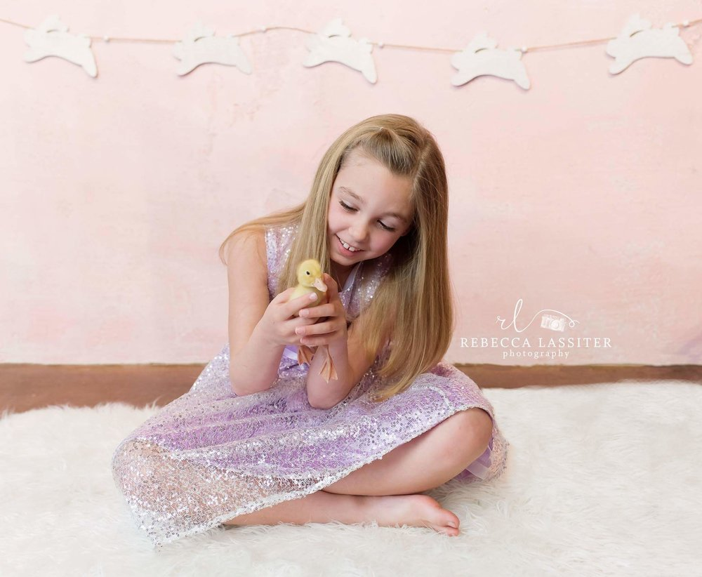 Rebecca Lassiter Photography Easter Session, duck 2015