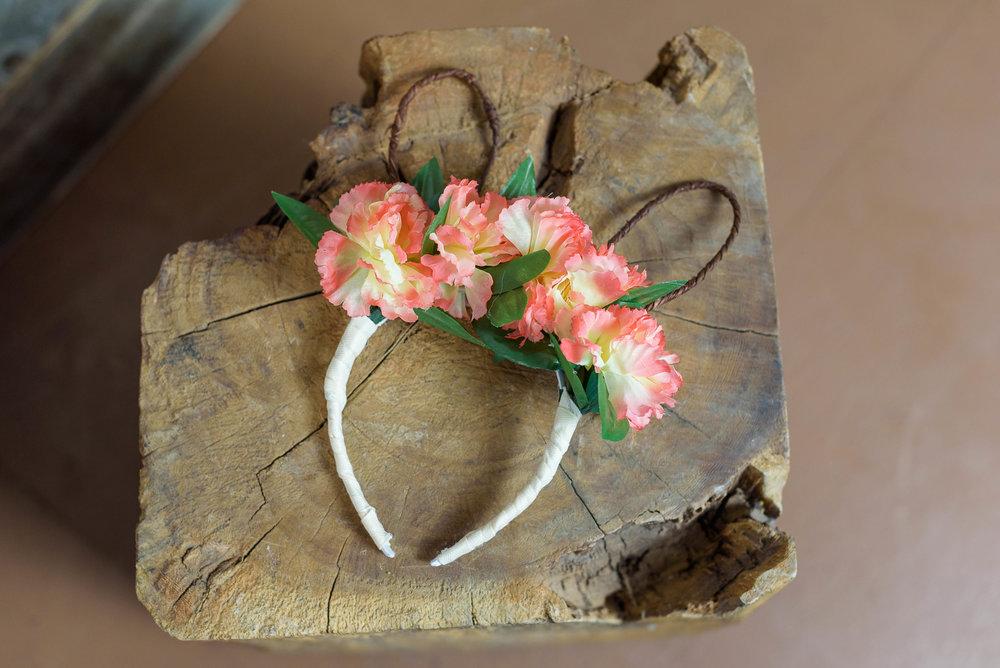 Bunny Ears! Floral Headband