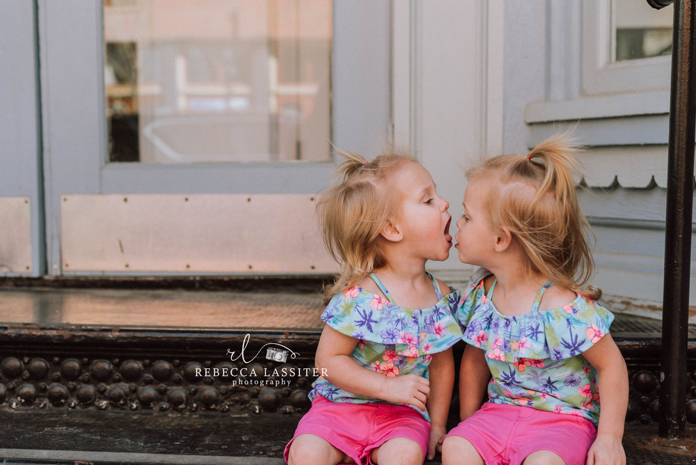 TWINS!  - I will just leave this adorableness right here. It makes me swoon. I love these girls.