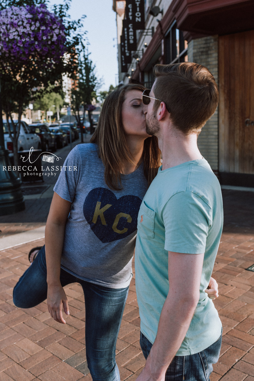 Kisses are Sweet - We were leaving our session when I turned and saw this. Capturing the sweet moments is why I am here.