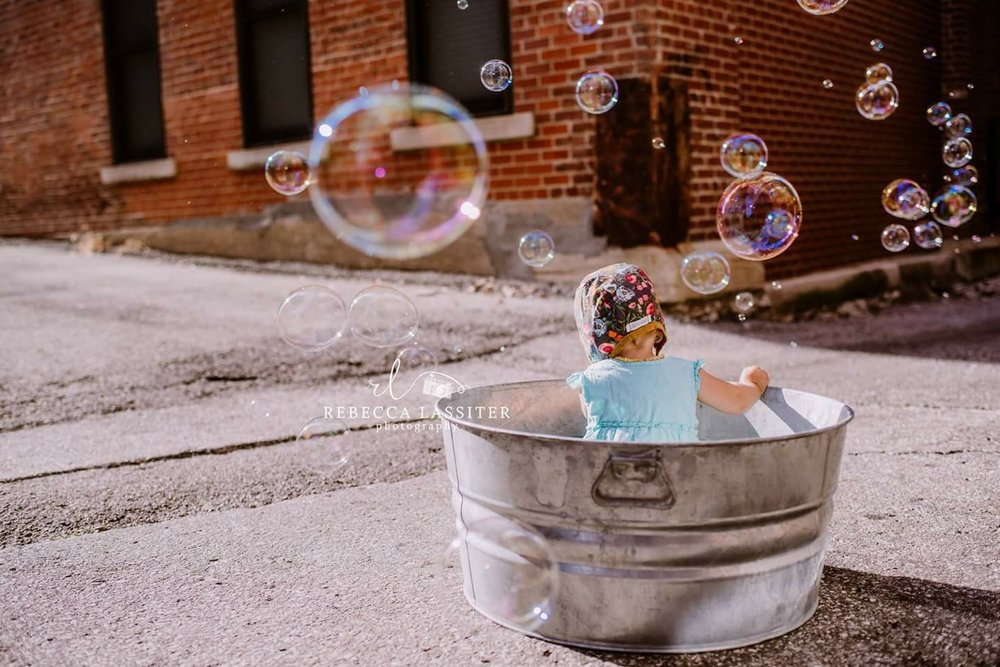 Rebecca Lassiter Photography Bubble Session 2