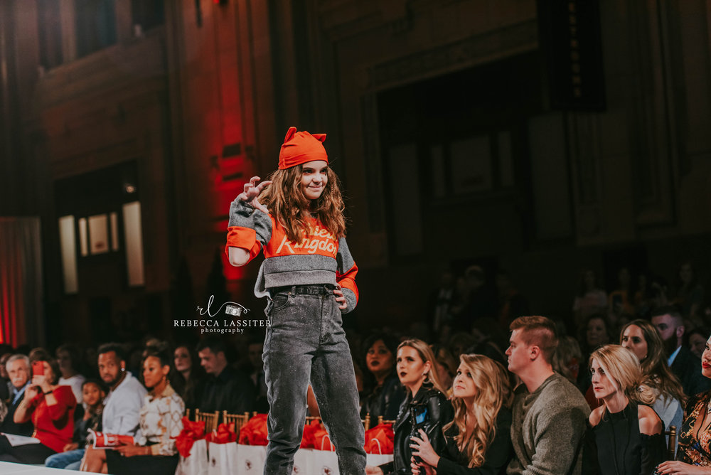 KC Fashion Week KC Cheifs Cat Kid