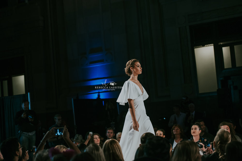 KC Fashion Week Night 2 - White Dress