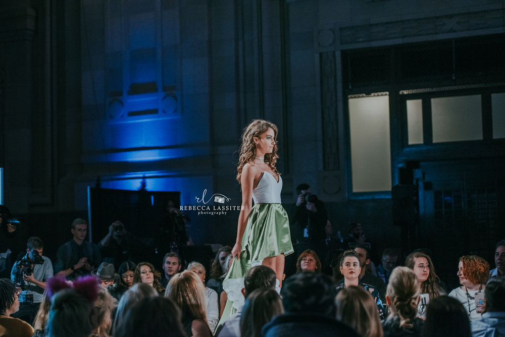 KC Fashion Week Night 2 - Green Skirt
