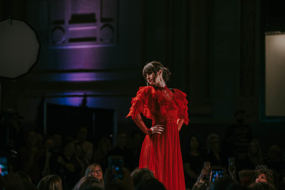 KC Fashion Week - Red Dress