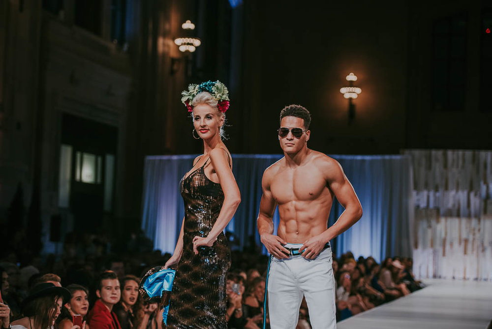 KC Fashion Week Male - Female Model