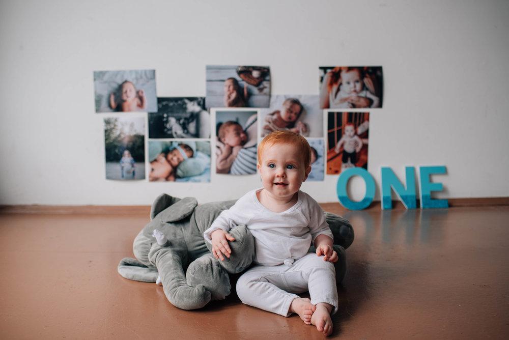 Babies first birthday, Kansas City Photographer