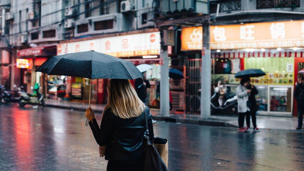 Shanghai, Hongkong und Kristin -
