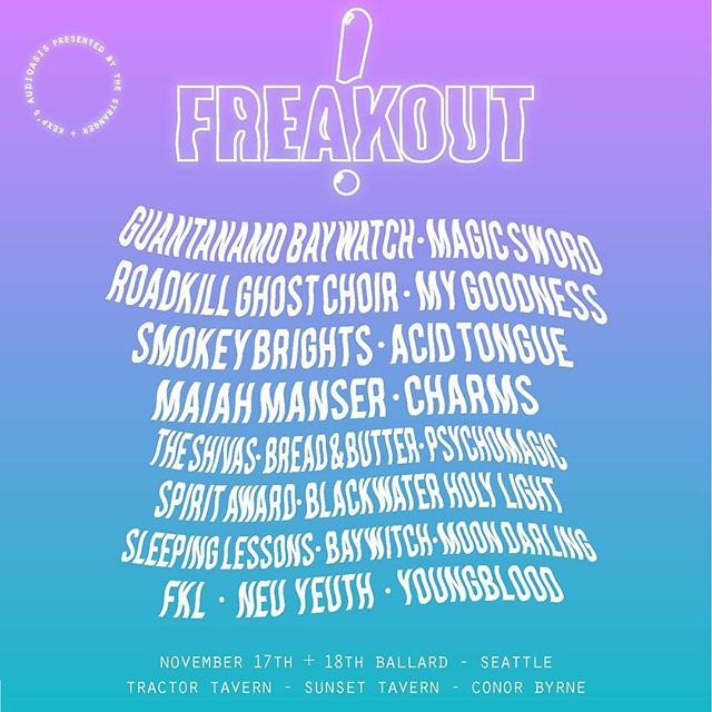 Time to get after it this November 🔥🙌 @freakoutrecords