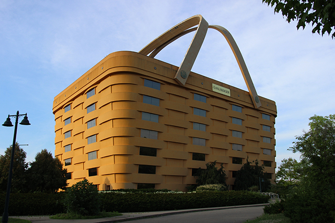 Longaberger Home Office. The Basket Was Completed In 1997 At Insistence Of  Founder Dave Longaberger