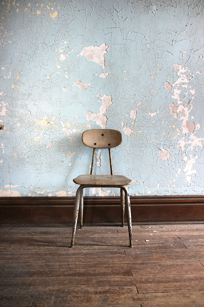 One Thing That JMP And I Kept Noticing As We Toured The Ohio State  Reformatory Was All Of The Chairs. In Almost Every Room That We Entered, ...