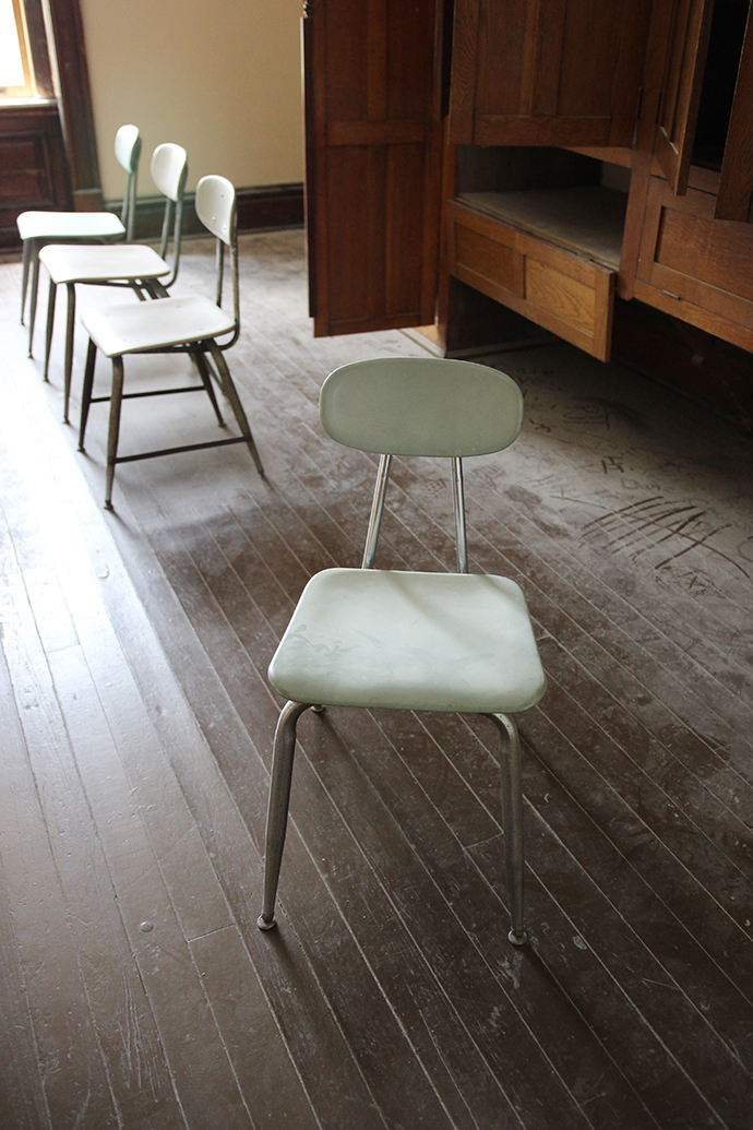 ... Chairs When Iu0027m In Abandoned Spacesu2014like The Ellis Island Hospital  Complex Or The Creepy Dentist Chair In The Staten Island Hospitalu2014and They  Add So ...